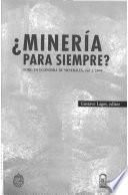 Minería para siempre?