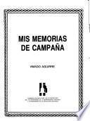 Mis memorias de campaña