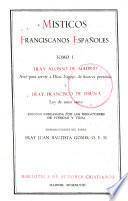Misticos franciscanos españoles