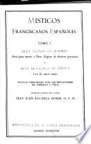 Místicos franciscanos españoles ...