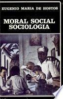 Moral social ; Sociología