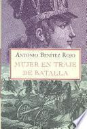 Mujer en traje de batalla