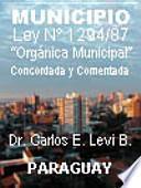 Municipio - Ley Orgánica Municipal Concordada Y Comentada