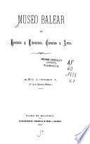 Museo Balear de historia y literatura, ciencias y artes