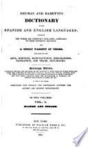 Neuman and Baretti's Dictionary of the Spanish and English Languages ...