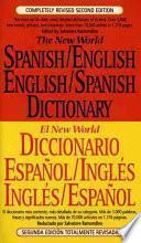 New World Diccionario Español/inglés, Inglés/español