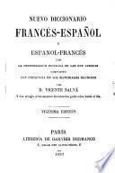 Nouveau dictionnaire espagnol-français et français-espagnol