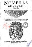 Novelas amorosas dirigidas al ilustrissimo y excelentissimo señor Ruy Gomez de Silva, ... compuestas por Joseph Camerino ,...