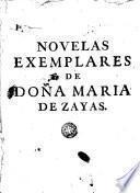 Novelas exemplares y amorosas de Doña María de Zayas y Sotomayor