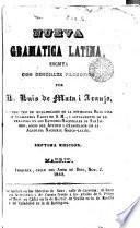 Nueva gramatica latina
