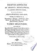 Nuevo aspecto de teología médico-moral, y ambos derechos, o, Paradoxas fisico-teologíco legales