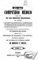 Nuevo compendio médico para uso de los médicos prácticos...