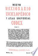 Nuevo diccionario enciclopédico y atlas universal Codex: M-Z