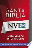 NVI Santa Biblia con letra roja