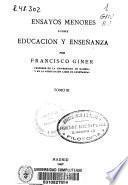 Obras completas de Francisco Giner de los Ríos