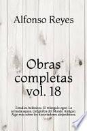 Obras completas vol. 18