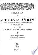 Obras de D. Mariano José de Larra (Figaro).