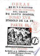 Obras de el V.P. maestro Fray Luis de Granada ... tomo 1. \\-27.]