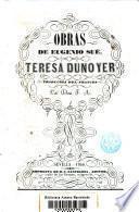 Obras de Eugenio sue Teresa Duno Yer
