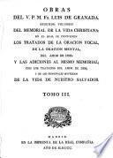 Obras del V.P.M. Fr. Luis de Granada