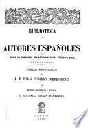 Obras escogidas del R.P. Juan Eusebio Nieremberg