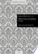 Obras sacras en romance Vol. 10