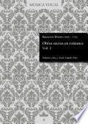 Obras sacras en romance Vol. 2