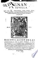 Ordenanças de Sevilla