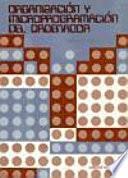 Organización y microprogramación del ordenador