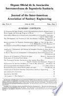 Organo oficial de la Asociación Interamericana de Ingeniería Sanitaria
