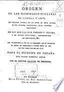 Origen de las dignidades seglares de Castilla y León