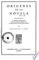 Orígenes de la novela: Cuentos y novelas cortas; La Celestina