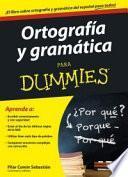 Ortografía y gramática para dummies