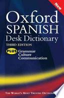 Oxford Spanish Desk Dictionary