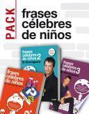 Pack Frases célebres de niños de El hormiguero (3 ebooks)