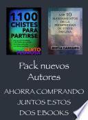 Pack Nuevos Autores, Ahorra comprando juntos estos dos ebooks