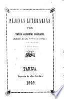 Pájinas literarias