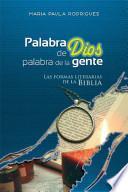 PALABRA DE DIOS, PALABRA DE LA GENTE