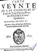 Parte veynte de las comedias de Lope de Vega Carpio, Procurador Fiscal de la Camara Apostolica