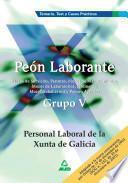 Peon Laborante. Personal Laboral de la Xunta de Galicia. Grupo V. Temario, Test Y Casos Practicos Ebook