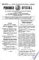 Periódico oficial del gobierno