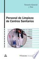 Personal de Limpieza de Centros Sanitarios. Temario General Y Test. Ebook