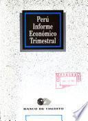 Perú informe económico trimestral