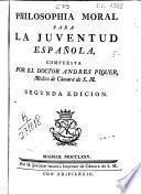 Philosophia moral para la juventud española