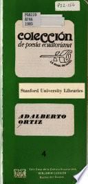 Poemas de Adalberto Ortiz