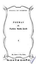 Poemas de Porfirio Barba-Jacob [pseud