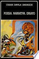 Poesía, narrativa, ensayo