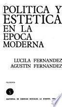 Política y estética en la época moderna