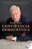 Por una convivencia democrática