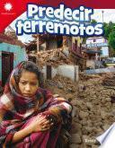Predecir terremotos